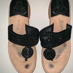 Black Jack Rogers Sandals